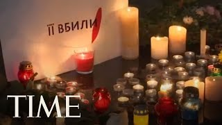 Protesters Demand Justice In Ukraine After Anti-Corruption Activist Dies From Acid Attack | TIME