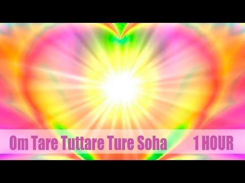 Mantra Om Tare Tuttare Soha💟🙏 (1 Hour) Beautiful voice!💐  Мантра 💟 Ом Таре Туттаре Туре Соха