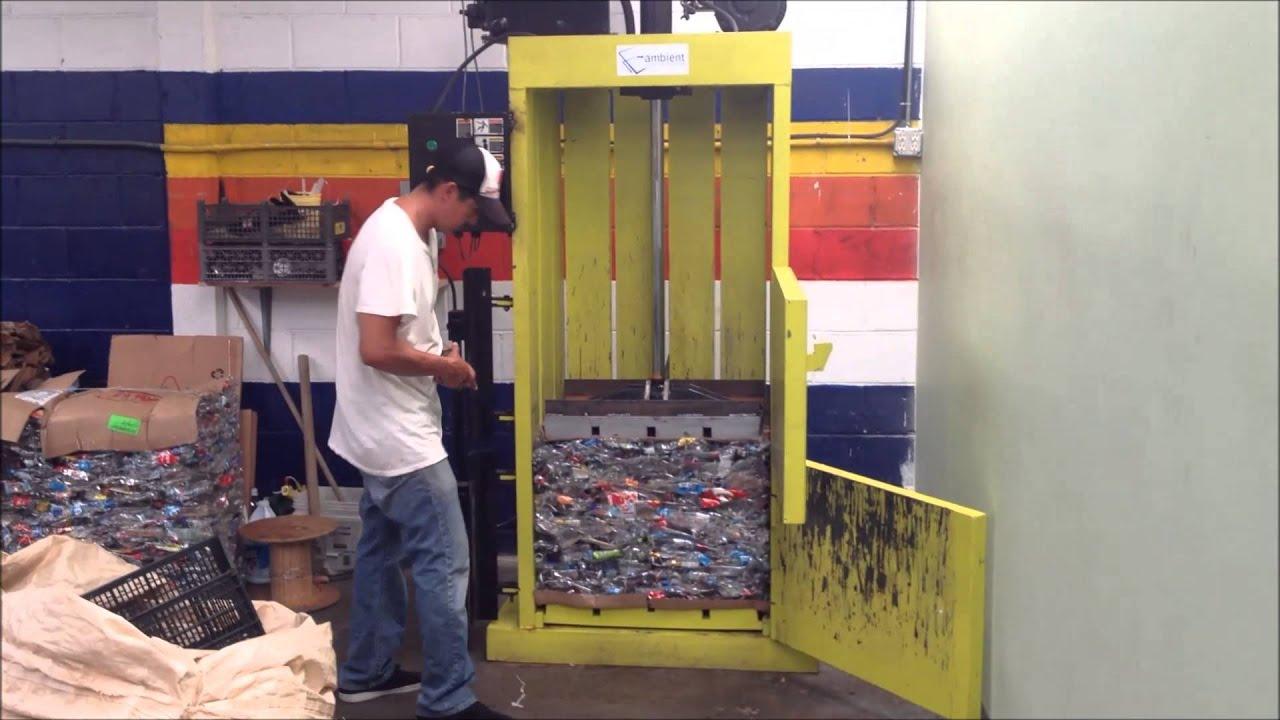 Proceso de compactado pl stico pet youtube - Maquina de reciclaje de plastico ...
