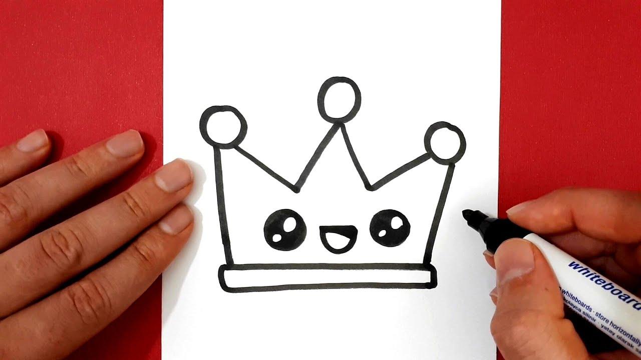 Kağıttan Taç Yapımı -Renkli Kartondan Kraliçe Kral Tacı Yapmak