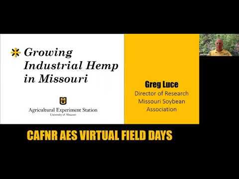 Growing Industrial Hemp in Missouri – Greg Luce