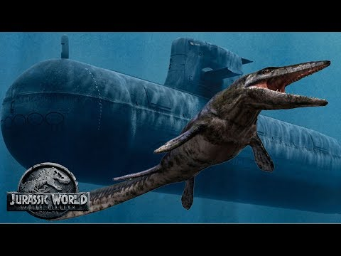 New Submarine Attack Scene Spoilers & Discussion! | Jurassic World 2 Mosasaurus