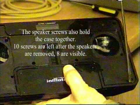 Howto-Altec Lansing IM600 InMotion Speaker System Teardown.mpg