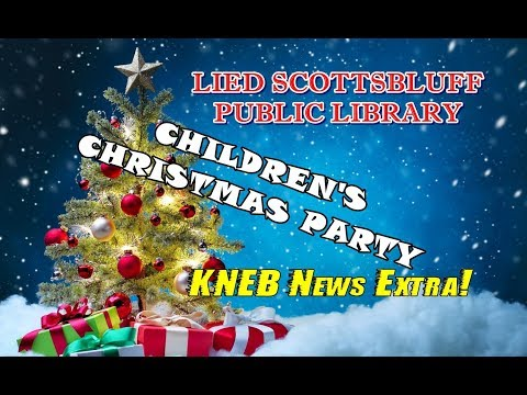 Children's Christmas Party - Lied Scottsbluff Public Library