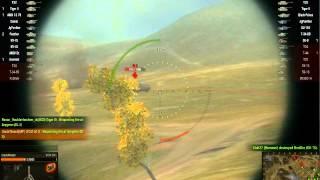 World of Tanks gameplay — FCM 50 t in Malinovka