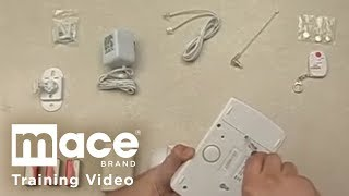 Mace Wireless Home Security System Training - Installation