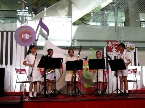 Eine Kleine Nachtmusik - Serenade, Movement 1 by Munsang College @ Lok Fu Plaza - 20110618