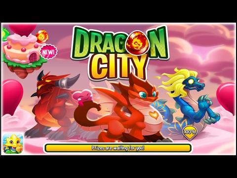 Dragon City   Valentineu0027s Island + Fighting PVP [First Looks]
