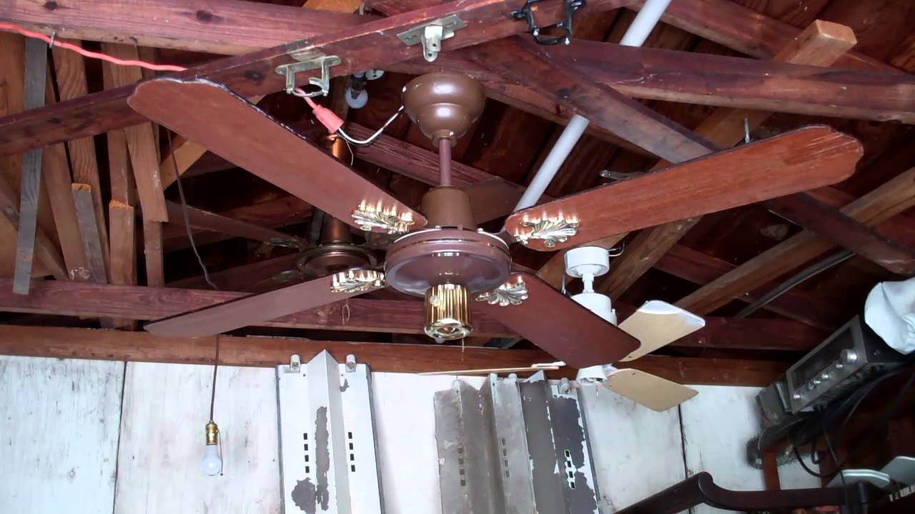 1970s Ceiling Fan : S m c laguna ceiling fan model kb from the late