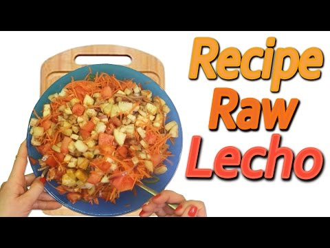 Raw Lecho (For raw foodists)