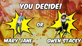 Spider-Man Unlimited ISO-8 Contest: Mary Jane or Gwen Stacy? [ENDED]