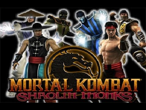 MORTAL KOMBAT Shaolin Monks (Film-Game complet Fr PS2)