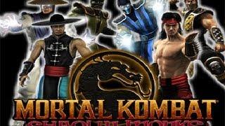 MORTAL KOMBAT Shaolin Monks (Film-Game complet Fr PS2)