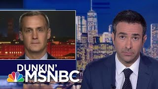 House Investigator Confronts Trump Aide Under Oath For Lying On MSNBC | The Beat With Ari Melber