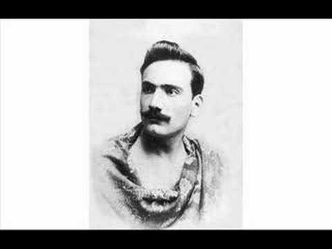 """Tosca: """"E lucevan le stelle"""" (announced) 1903"""
