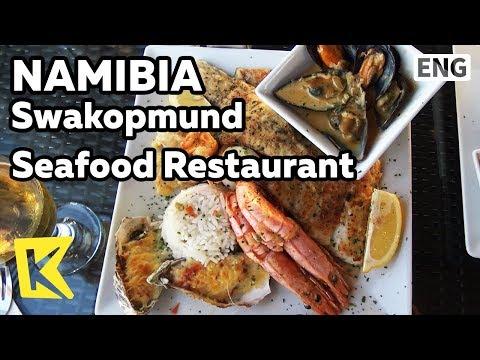 【K】Namibia Travel-Swakopmund[나미비아 여행-스바코프문트]스바코프문트 해산물 레스토랑/Seafood Restaurant/Jetty 1905