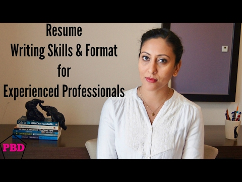 RESUME FORMAT FOR EXPERIENCED PROFESSIONALS I JYOT RANDHAWA