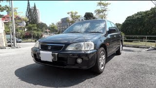 2000 Honda City Type-Z Start-Up, Full Vehicle Tour and Quick Drive