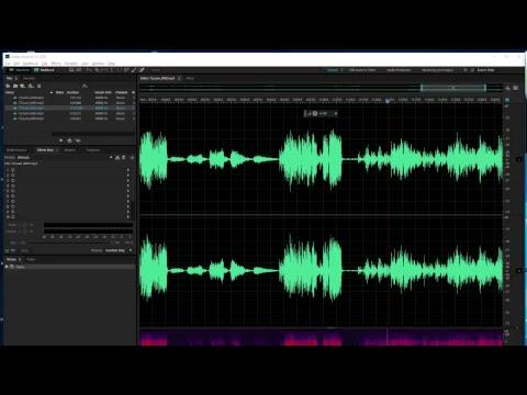 Whitford Choir 1970 Audio Editing