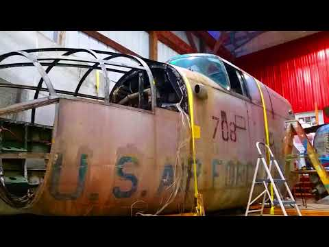 """B-25 """"Old Ironsides"""" Will Fly Once Again!"""