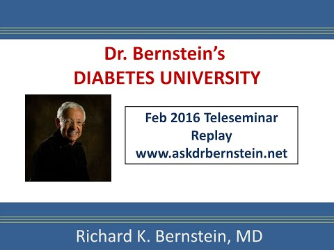 Teleseminar 6. February 2016. A full hour of answers to your diabetes questions.