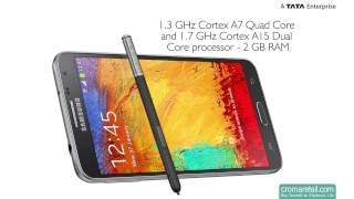 Samsung Galaxy Note 3 Neo GSM Mobile Phone (Black)