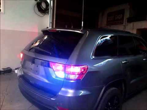 2013 Jeep Grand Cherokee Outfitted With Emergency Lights