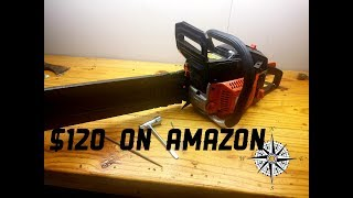 Amazon chain saw!