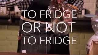 Coffee: To fridge or not to fridge?