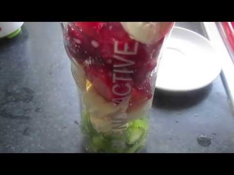 Healthy Smoothie - Strawberry Kiwi & Banana