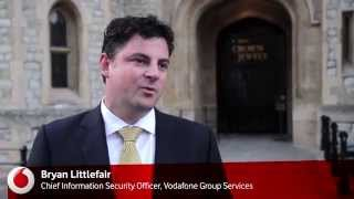 Cyber security experts at the Tower of London