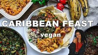 HIGH PROTEIN CARIBBEAN FEAST! VEGAN