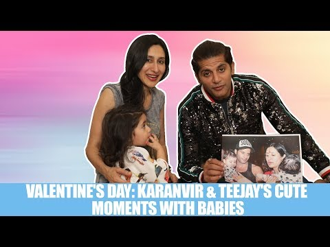 Valentine's Day: Karanvir Bohra, Teejay & baby girls relive their cutest memories