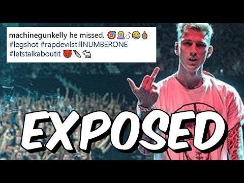 Machine Gun Kelly Exposed - Fake Instagram Pic & Lip Syncing - MGK Rap Devil Killshot Confirmed