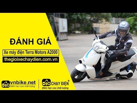Đánh giá xe máy điện Terra Motors A2000