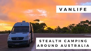 Stealth Camping Tips & Hacks For Vanlife | Traveling Australia In Our DIY Mercedes Campervan