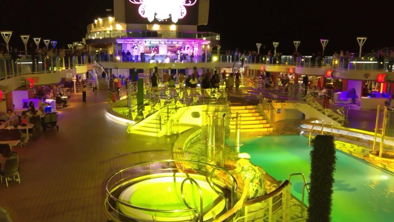 Royal Princess Cruise Ship Hot Latin Night Party YouTube - Cruise ship party