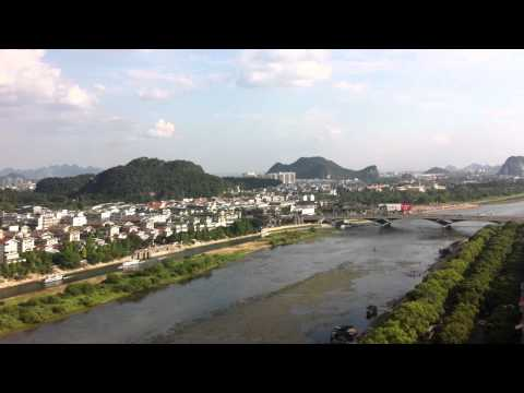 View over Guilin city 桂林