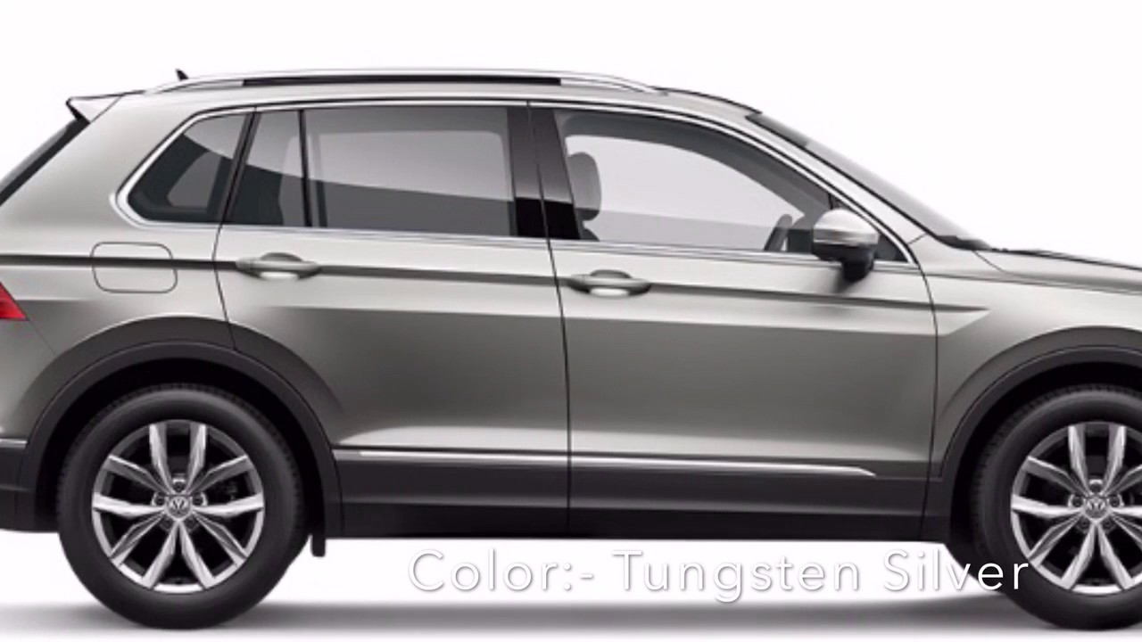 Volkswagen Tiguan Colors Colours India