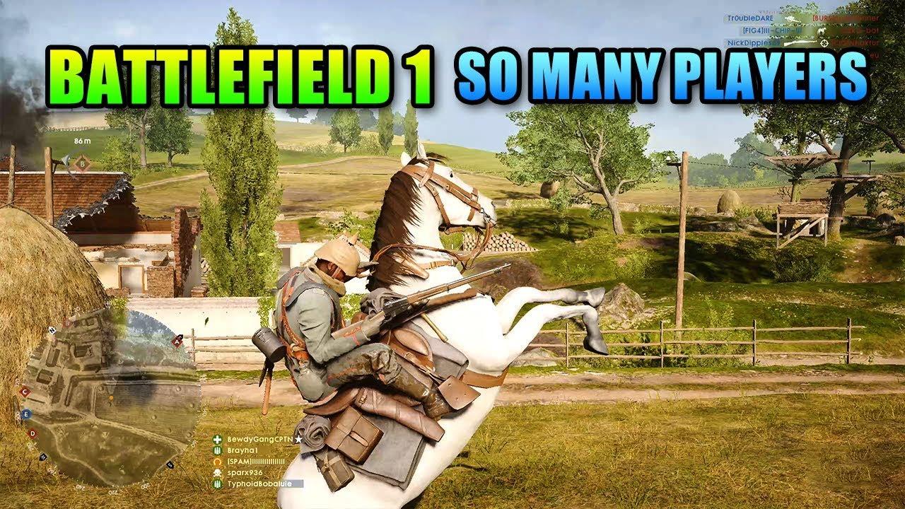 Highest Battlefield 1 Player Count In 18 Months!