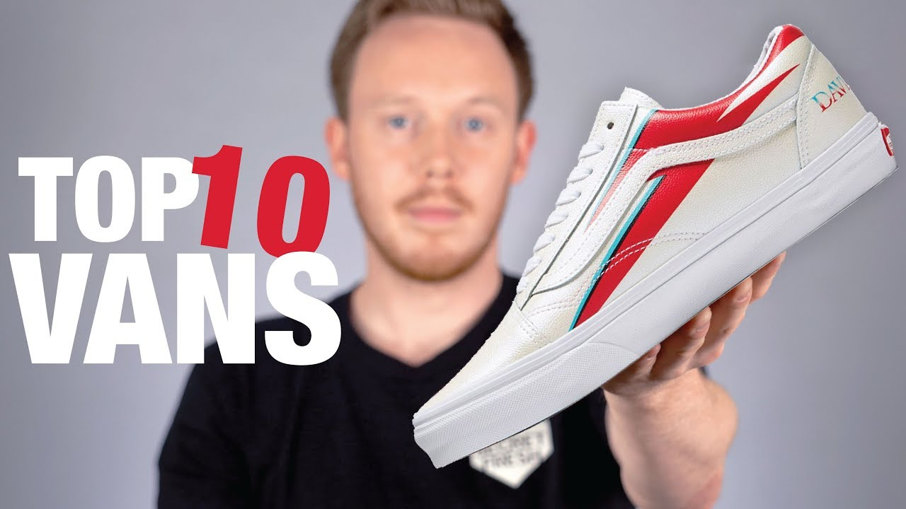 Top 10 New VANS Shoes 2019 - YouTube