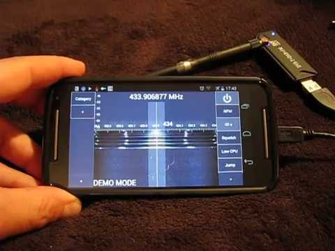 Android RF Spectrum Analyzer 50-2000MHz for $10 - YouTube