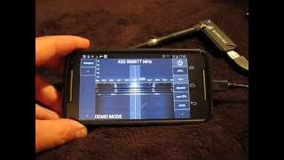 android rf spectrum analyzer 50 2000mhz for 10