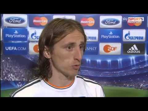 what he said Luca Modric for match the final Champions League