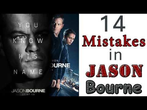 14 Mistakes in Jason bourne   Hollywood Movie Jason Bourne Mistakes   matt damon, alicia vikander