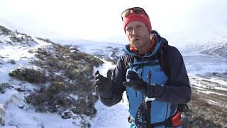 Approaching a Winter Climb