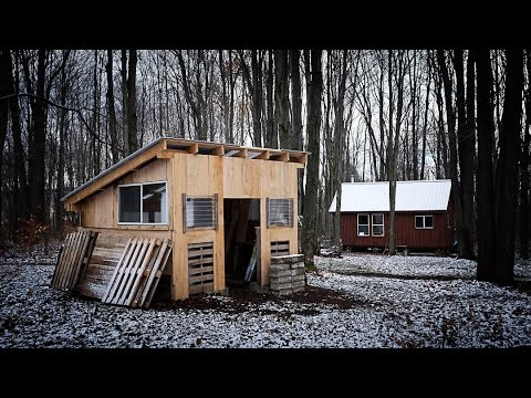 Building the sugar shack part 4 youtube for How to build a small shack