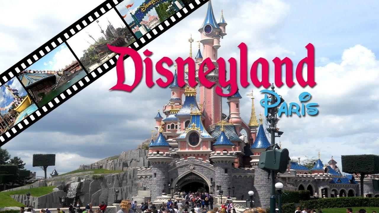 Disneyland amusement park paris france youtube for Amusement parks in paris