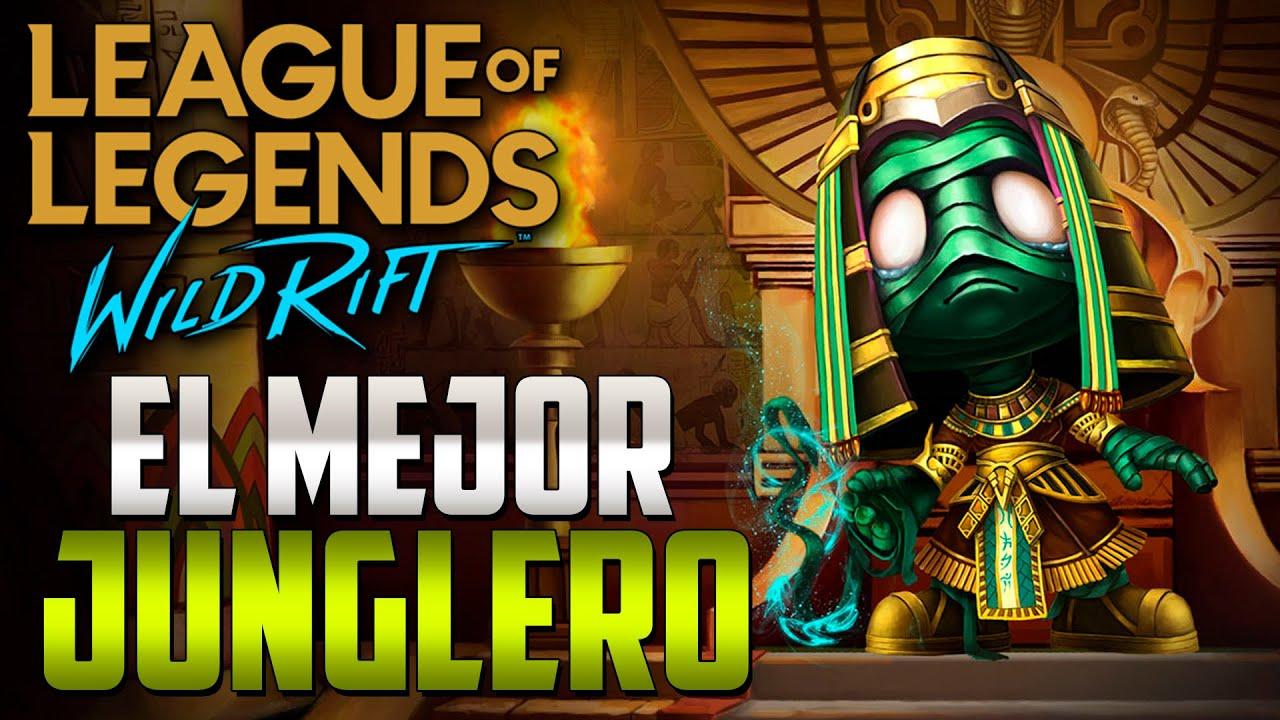 EL MEJOR JUNGLERO DE WILD RIFT - AMUMU - GAMEPLAYS