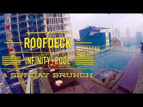 City Garden Grand Hotel Makati Tour Episode 5: Roofdeck Infinity Pool and Sunday Brunch
